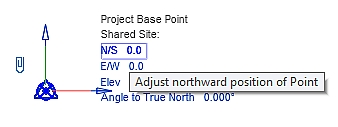 5.2 Coordinates of the Project Base Point